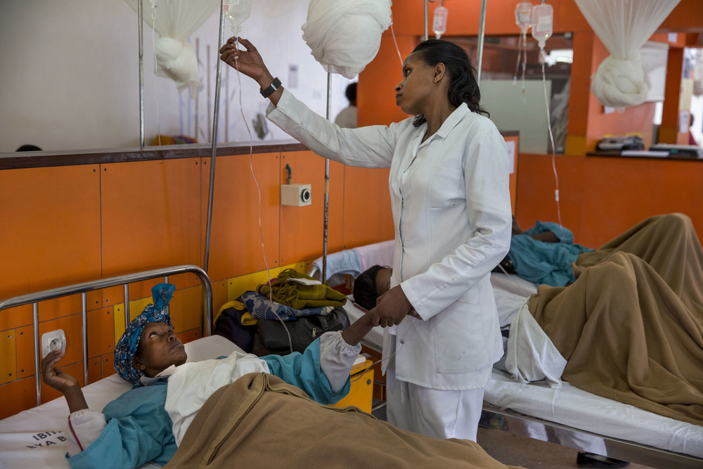 There are positive changes happening in Africa, but health challenges exist.