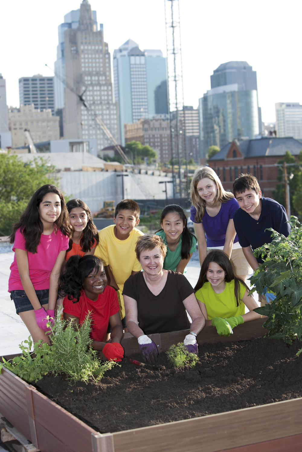 There are many ways to make a community healthier