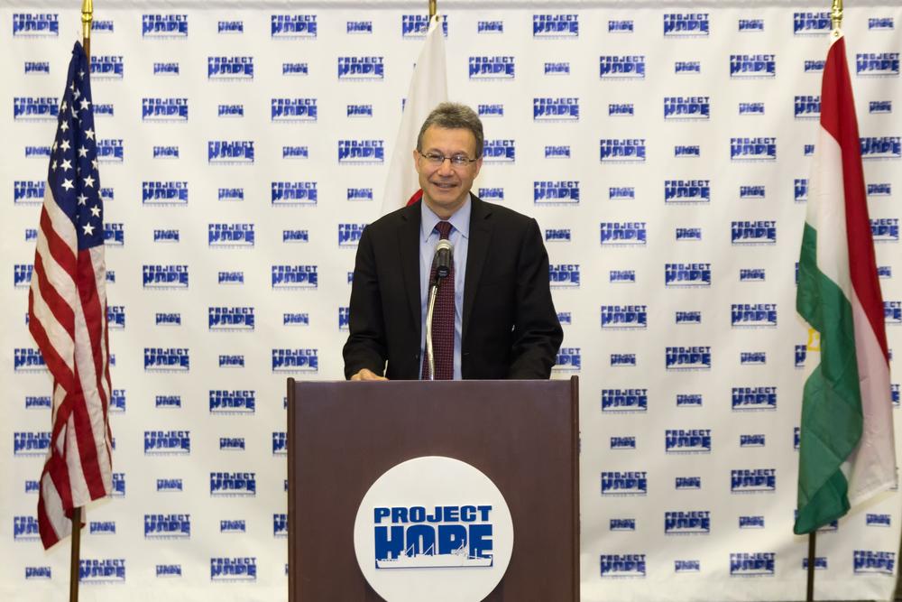 Daniel Rosenblum at podium