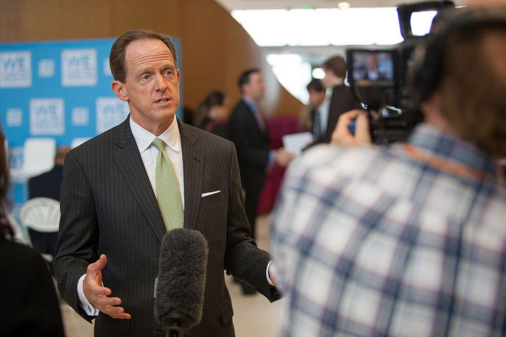 Senator Toomey talks about how valuable the biotechnology industry is to Pennsylvania's economy.