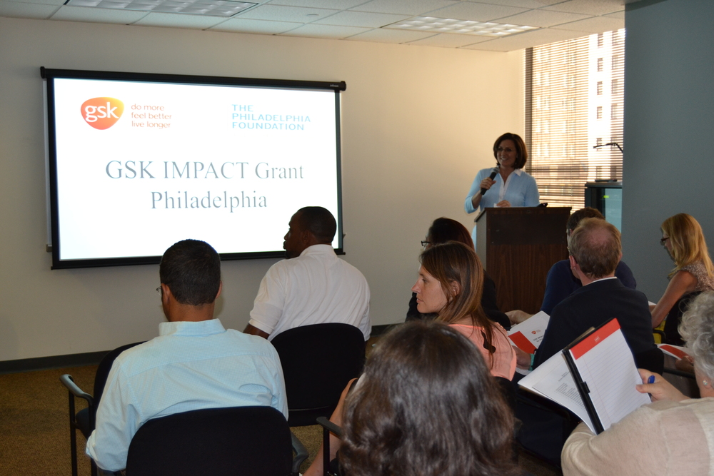 100 people from area nonprofits attended our session on June 24 at the Philadelphia Foundation