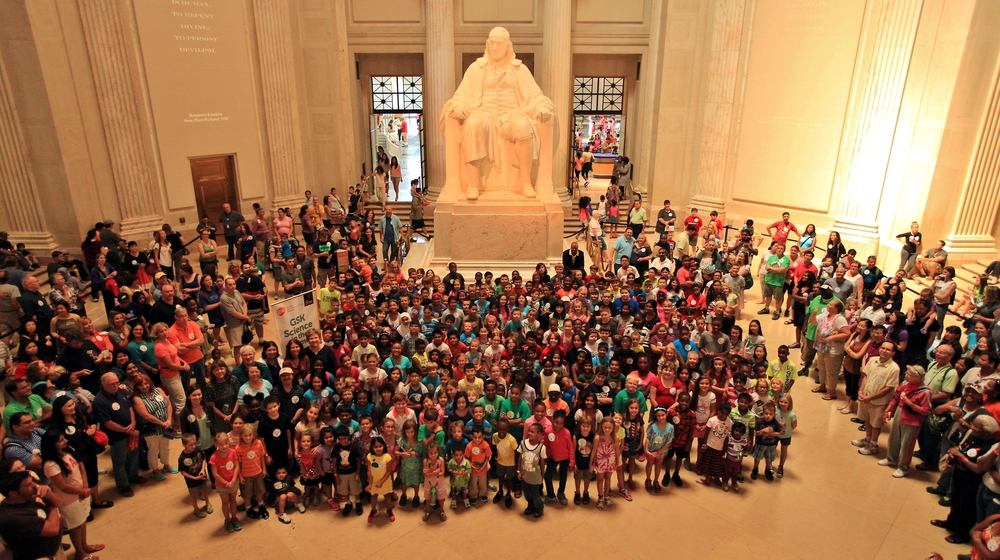 After opening remarks, this large group photo was taken.Photo Credit:Darryl Moran Photography