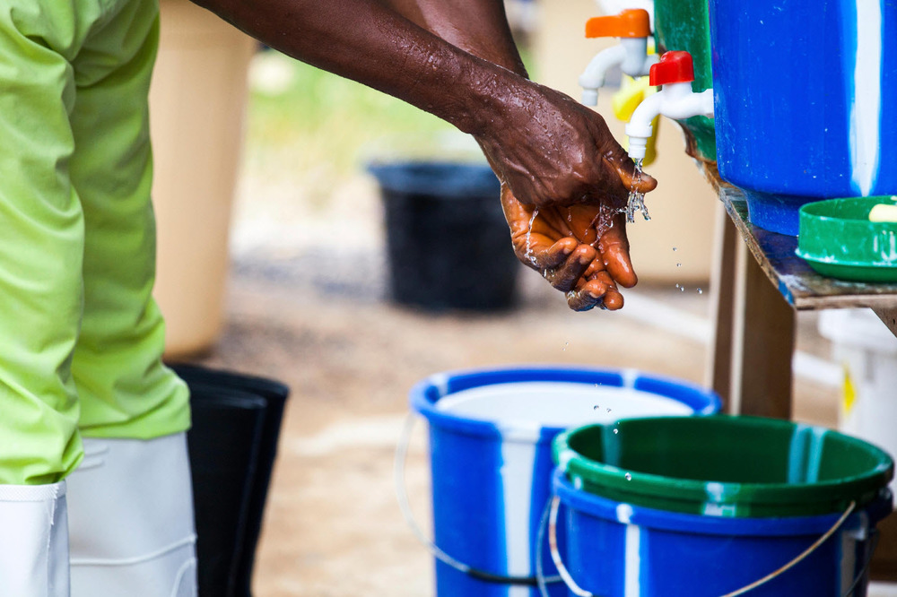 Handwashing is a first line of defense against infection.