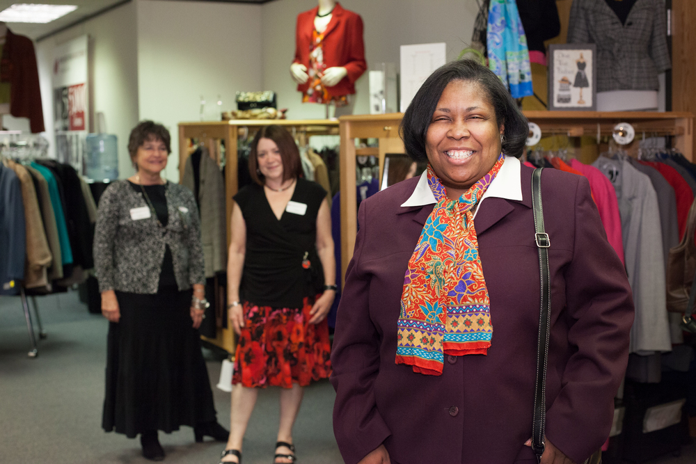 Dress for Success Triangle is building healthy communities and promoting economic independence by providing professional attire, a network of support, and career development tools.
