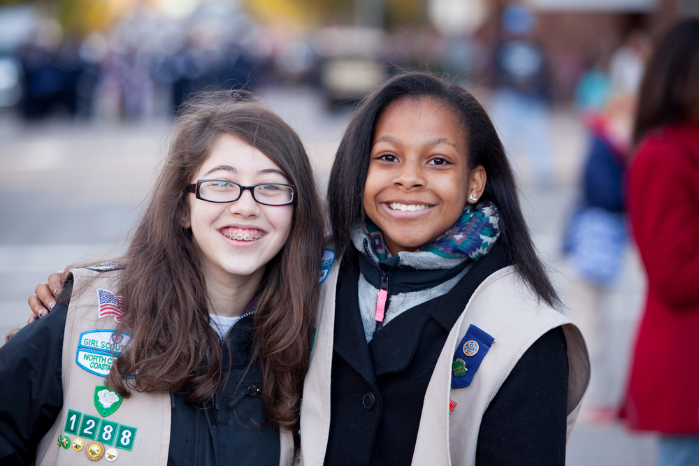 Girl Scouts North Carolina Coastal Pines arebuilding healthy communities by helping girls discover their values, connect with others to work as a team, and take action to make a difference in the world.