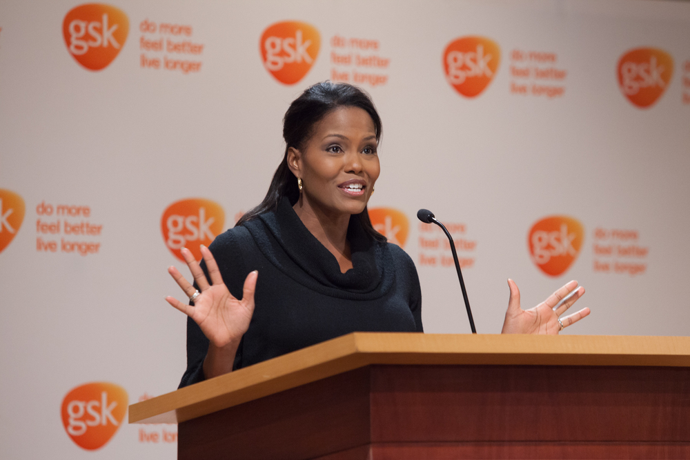 Tisha Powell of ABC11 acted as the emcee for the day.