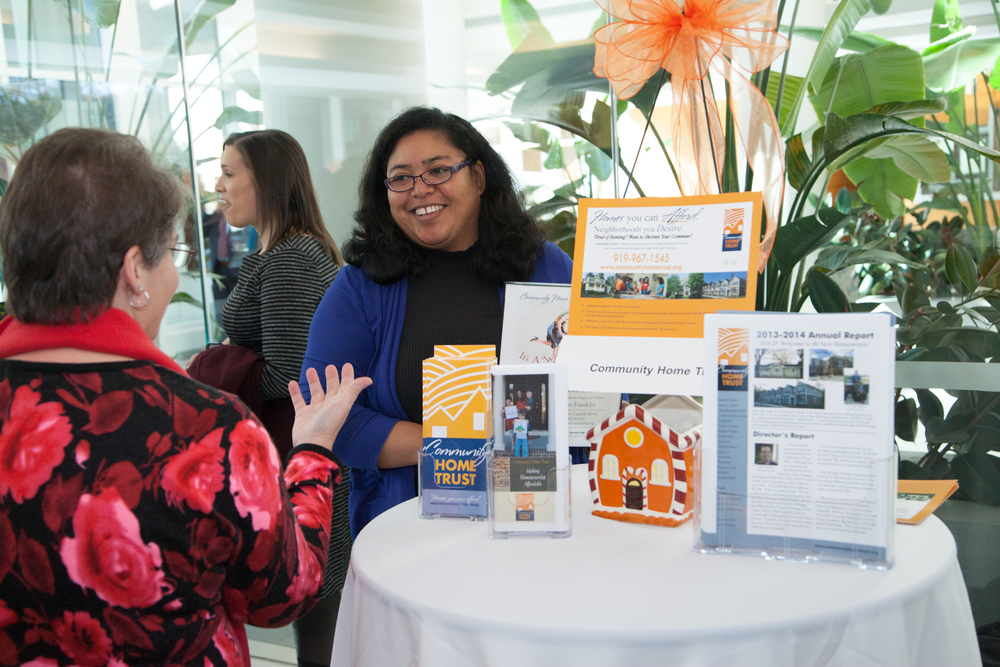 All IMPACT award winners were invited to host a table after the event to share volunteer opportunities with GSK employees
