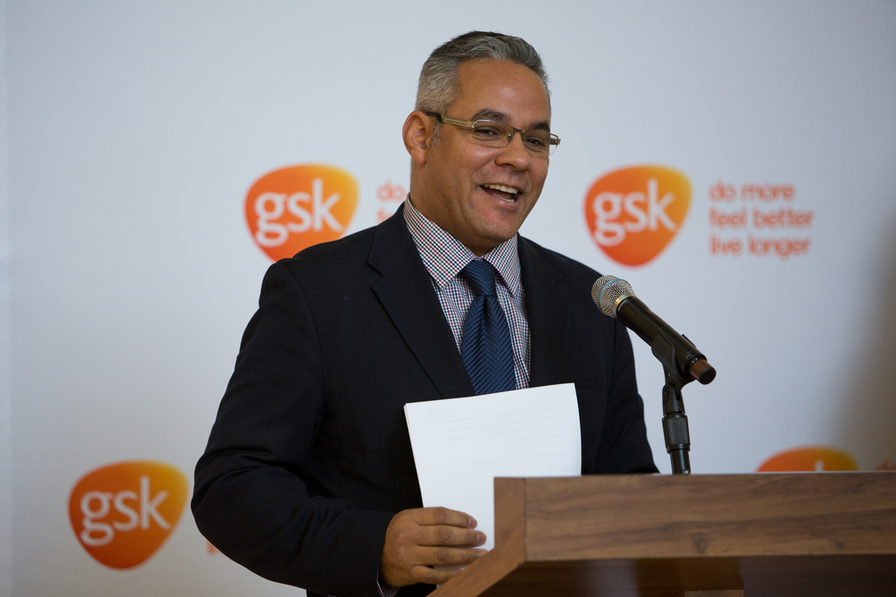 Kevin Dow, United Way of Greater Philadelphia and Southern New Jersey, spoke about partnering with GSK to administer the IMPACT Awards in Philadelphia