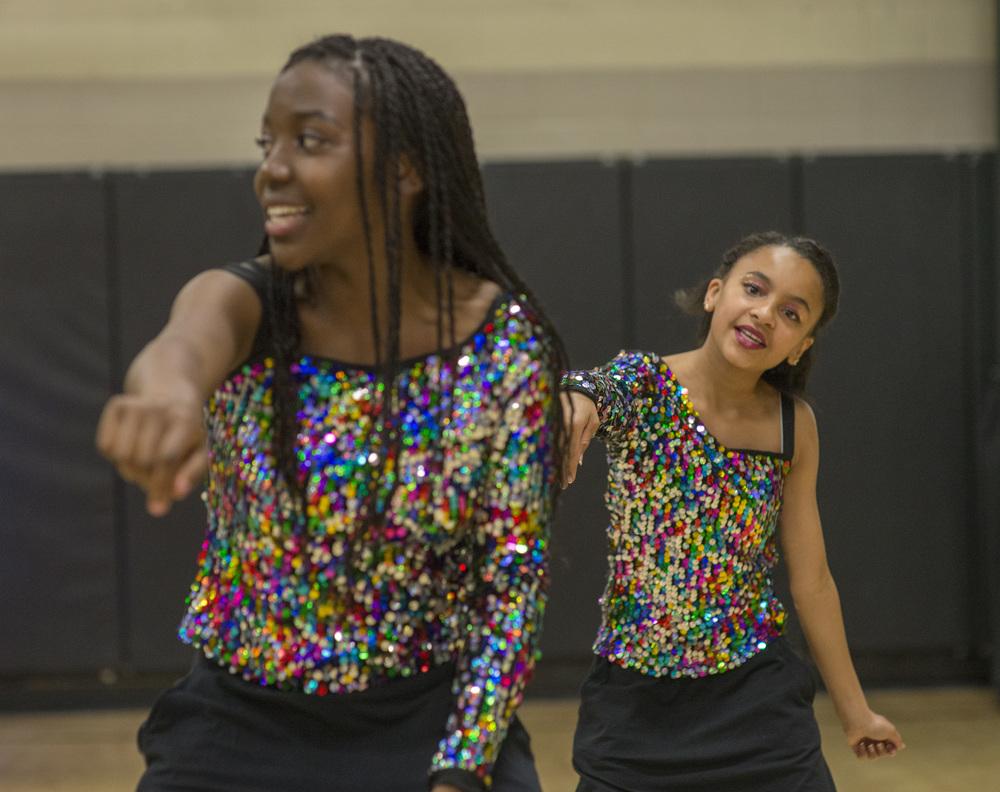 St. Charles recreation center dance team.