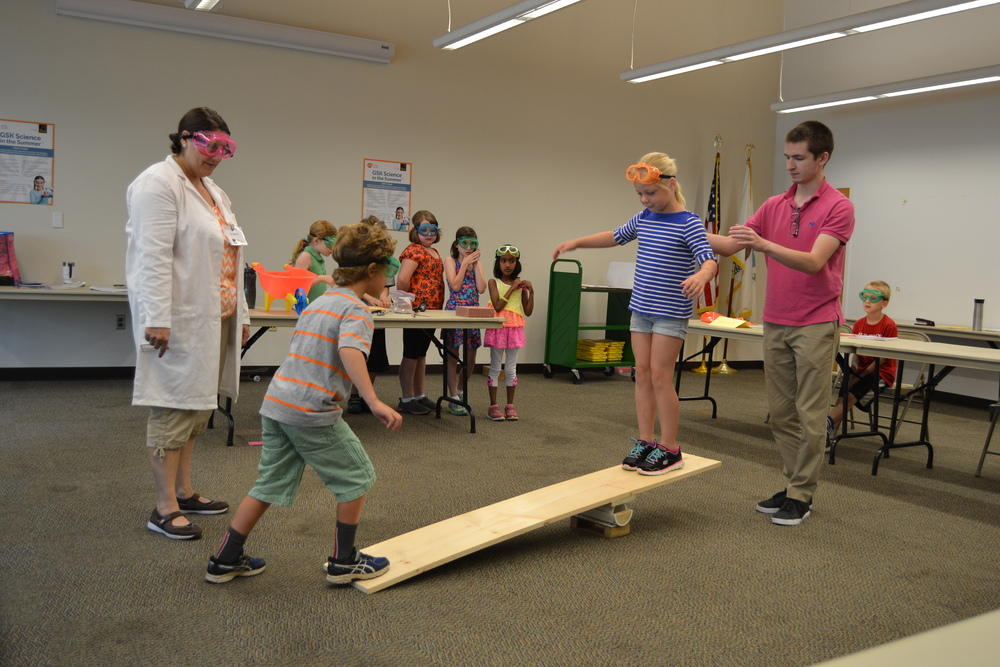 In Chester County, I watched students in the simple machines classes learn that a seesaw is a 'first-class lever.'