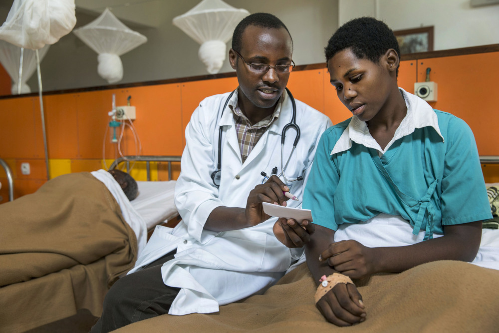 Across Africa, there is a severe shortage of skilled frontline health workers; and particularly in rural areas, health facilities are few and far between