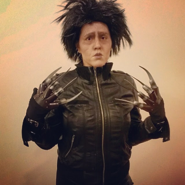 Anya Combs--Edward Scissorhands