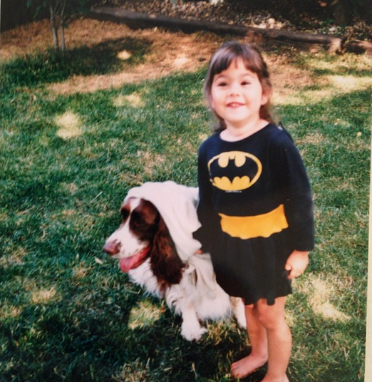 Allison Heim--Batgirl and sidekick