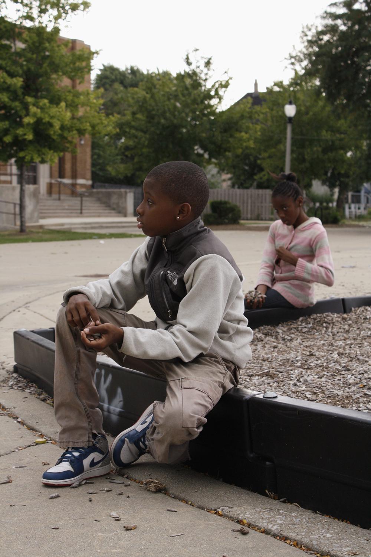 Students at Elihu Yale Elementary