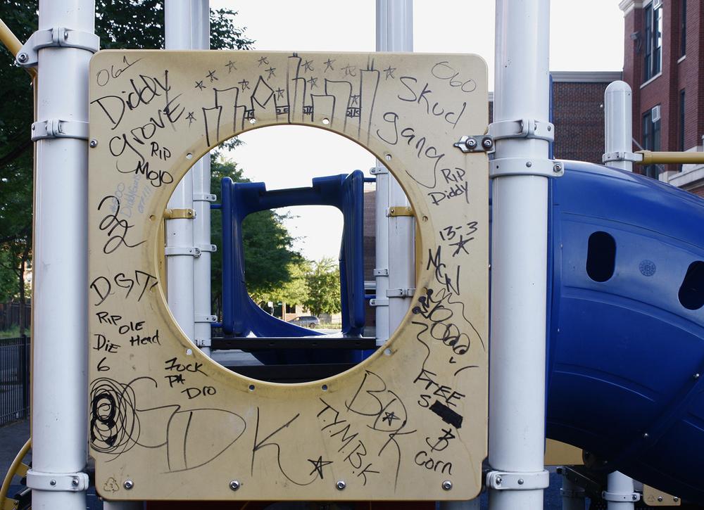 Playground at Austin O. Sexton Elementary