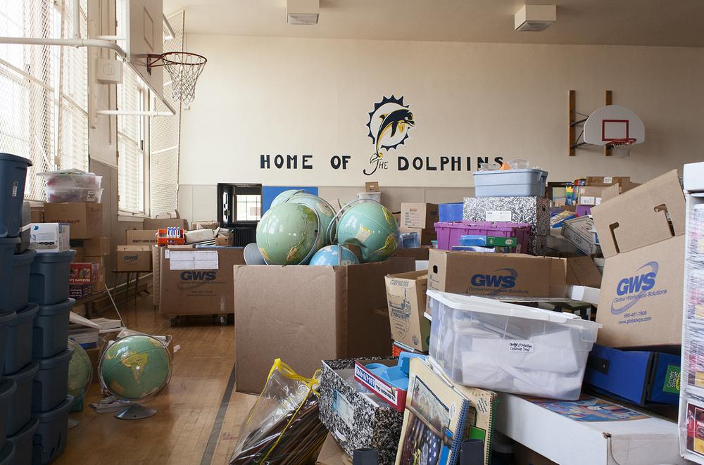 Globes, Von Humboldt Elementary