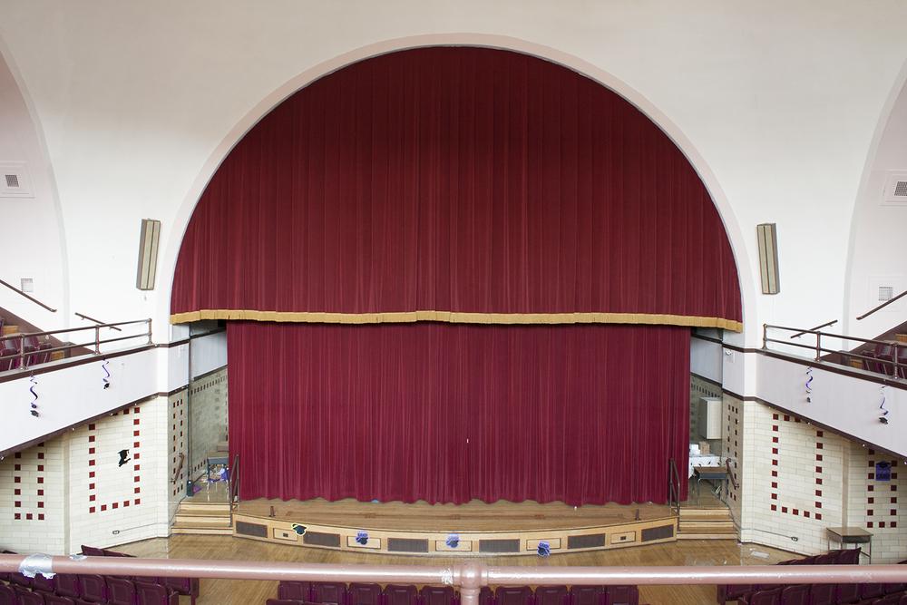 Auditorium, Lyman Trumbull Elementary