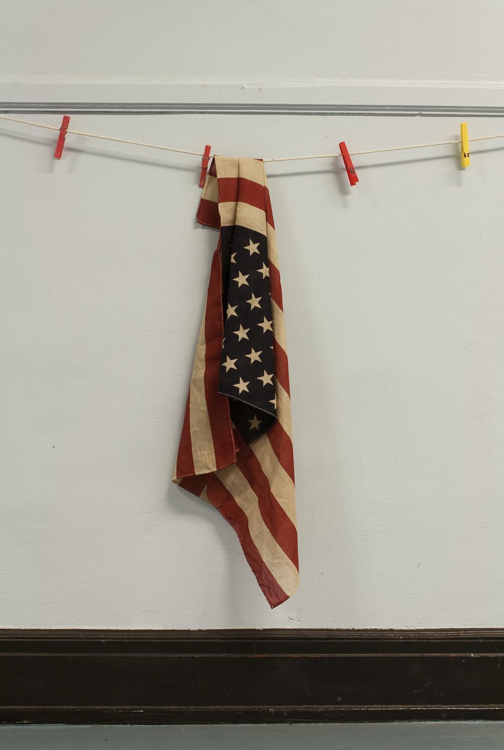 American Flag, Von Humboldt Elementary