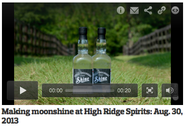 AL.com stopped by our distillery off Bullock County Road 7 to talk with Jamie Ray. Click the photo above to watch the short video and learn a bit more about Stills Crossroads Alabama 'Shine. [Full article]