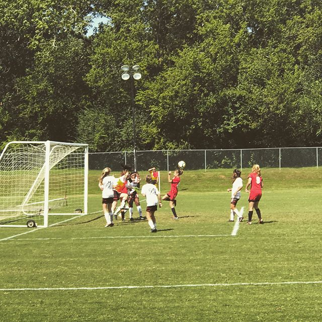 AFU U15 Elite  First game of the Fall season. 5-0 for the W.