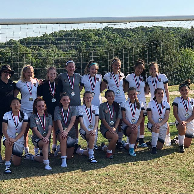 Congratulations to the AFU U15 2003 Elite ladies! Runner Up in the 2018 Atlanta Fire United Select Elite Cup Tournament! Well done ladies! We are proud of you all!  Happy Mother's Day!