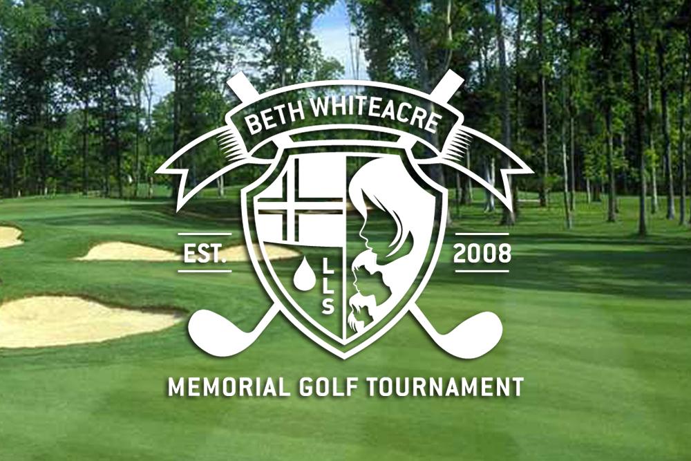 Beth Whiteacre Memorial Golf Tournament Logo Design