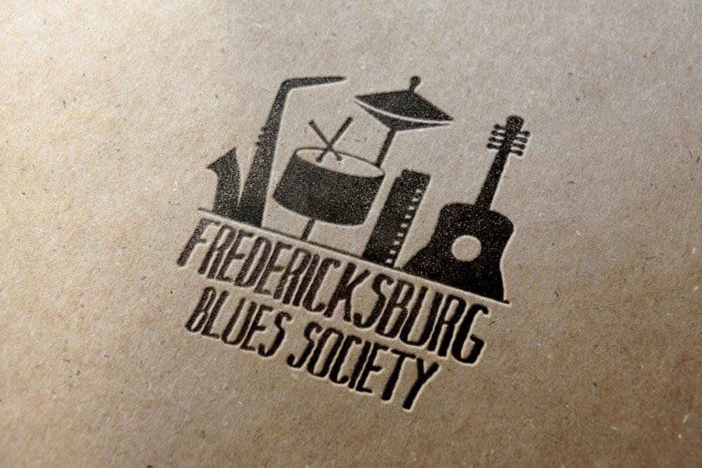 Fredericksburg Blues Society Logo Design