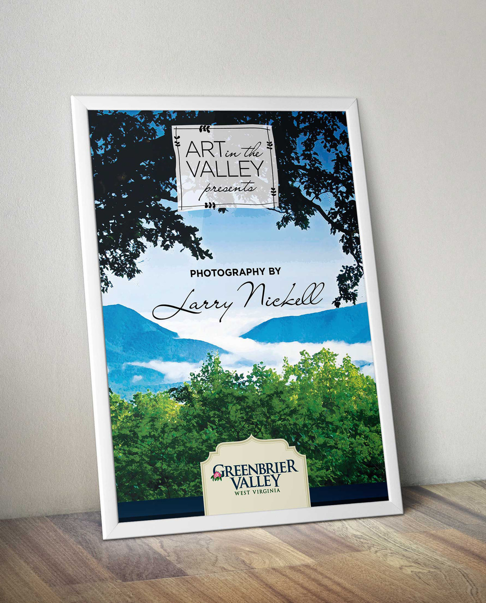 Greenbrier Valley Art in the Valley Poster