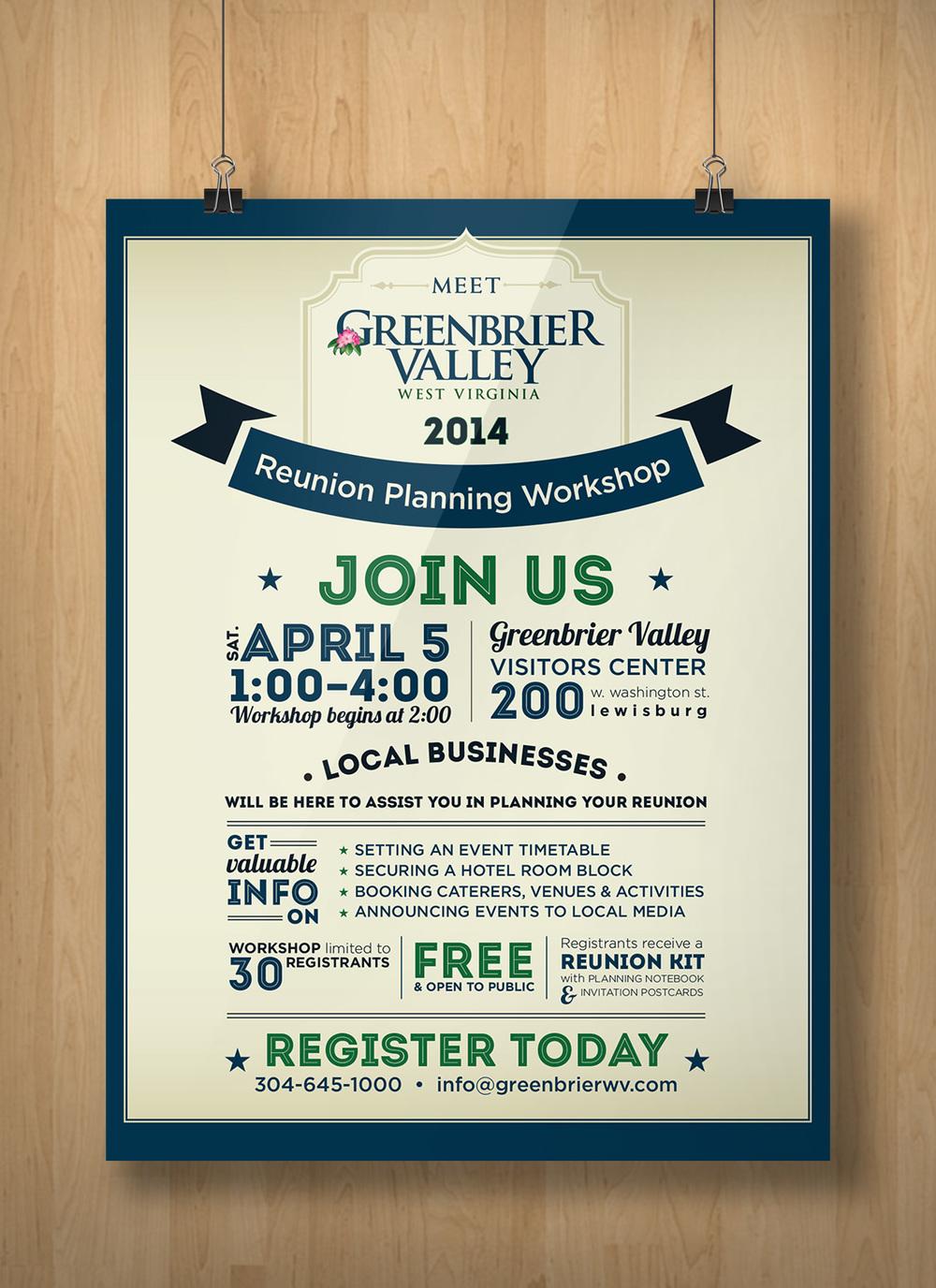 Greenbrier Valley Reunion Poster