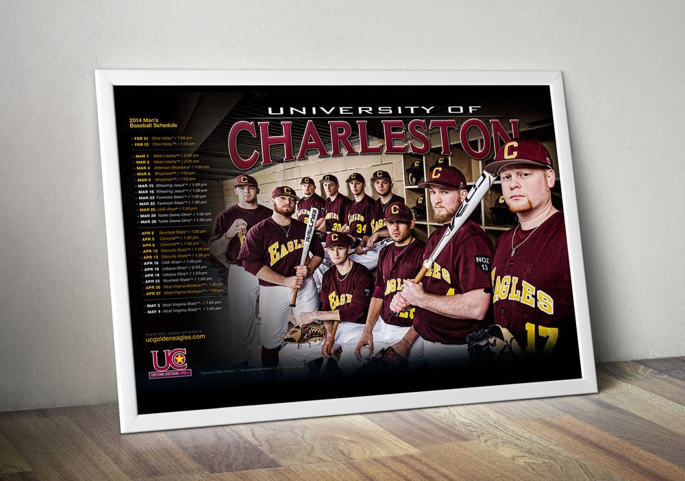University of Charleston BaseballPoster