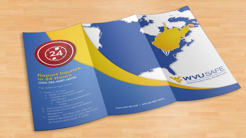 West  Virginia University Safe Brochure
