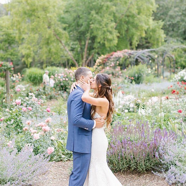 #Repost from @rachelstelterphotography. 💕 So excited to see Dimitra and Jordan's wedding featured on the @weddingchicks blog today! ⁣⠀ ⁣⠀ Looking for spring wedding inspiration? 🌸 Head to the link in bio to see the full post 😍⁣⠀ ⁣⠀ Venue: @descansogardens ⁣⠀ Florals: @milieuflorals ⁣⠀ Video: Narrative Wedding Films ⁣⠀ Hair: @cutmarc ⁣⠀ Makeup: @kellytranartistry ⁣⠀ DJ: @blackbooksocialclub ⁣⠀ Catering: @patinacatering ⁣⠀ Bakery: @susiecakes ⁣⠀ Invitations: @byinvitationonlyink⁣⠀ Gown: @watters⁣⠀ Suit: @suitsupply ⁣⠀ Bridesmaids Dresses: @bhldn ⁣⠀ Groomsmen Suits: @menswearhouse⁣⠀ Bridesmaid Robes: @sswedding.s ⁣⠀ Custom Sign: @onelovemetals ⁣⠀ Photobooth: @fotoboothplus ⁣⠀ Lawn Games: @joymode ⁣⠀⁣⠀