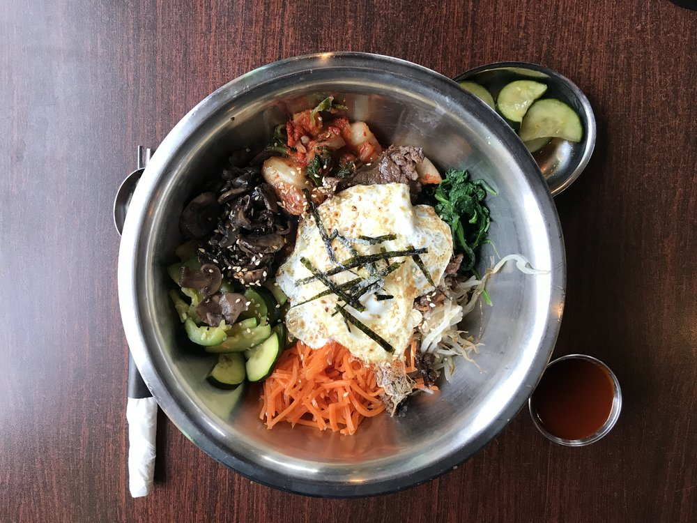 Bibimbap Bowl - at Whistle Pig Korean