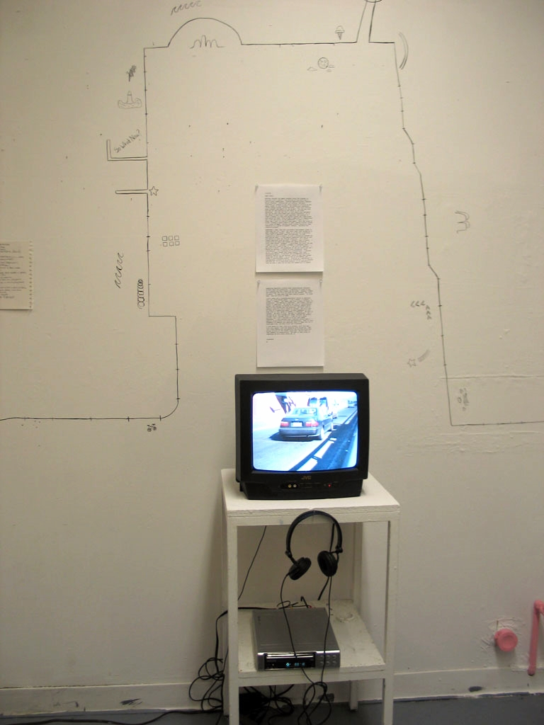 Walking Video Installation