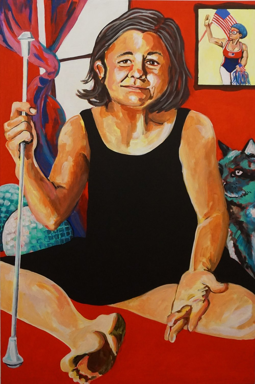 She Performs an Unbelievable Feat (portrait of Diane Dwyer).