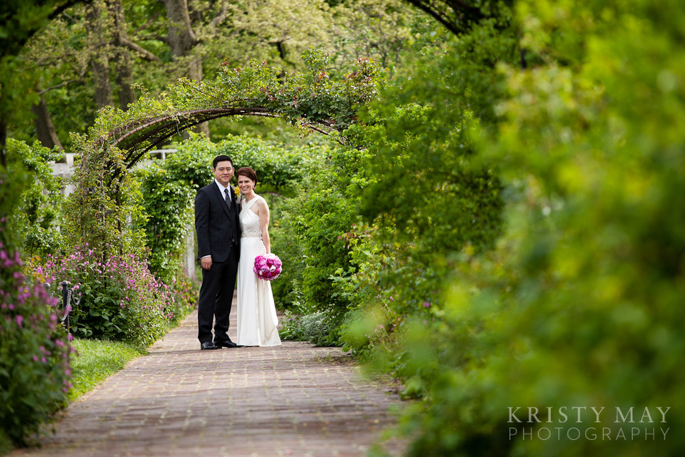 Brooklyn Botanical Garden Wedding Kristy May Photography New