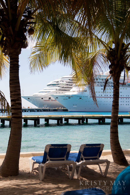Cruise ships, Cozumel, Mexico