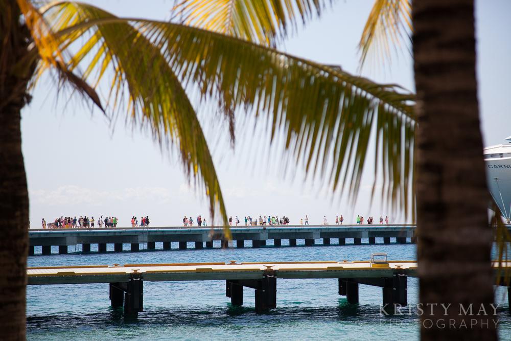 Cruise ship dock, Cozumel, Mexico
