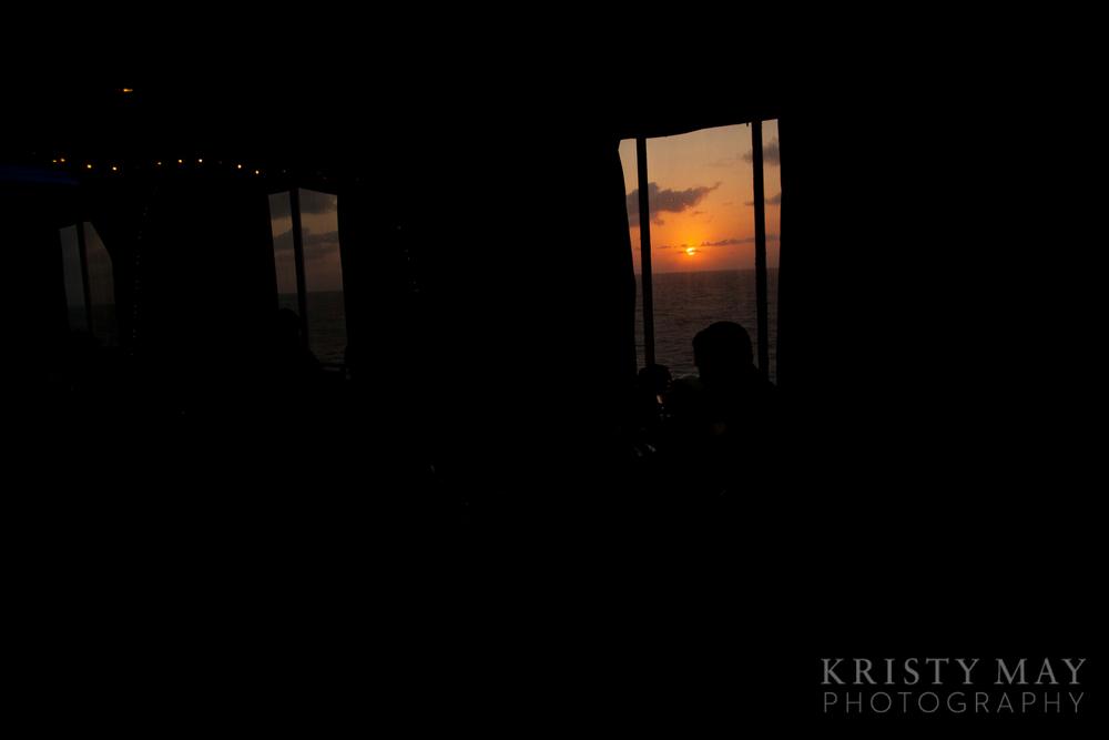 Sunset on the MS Elation