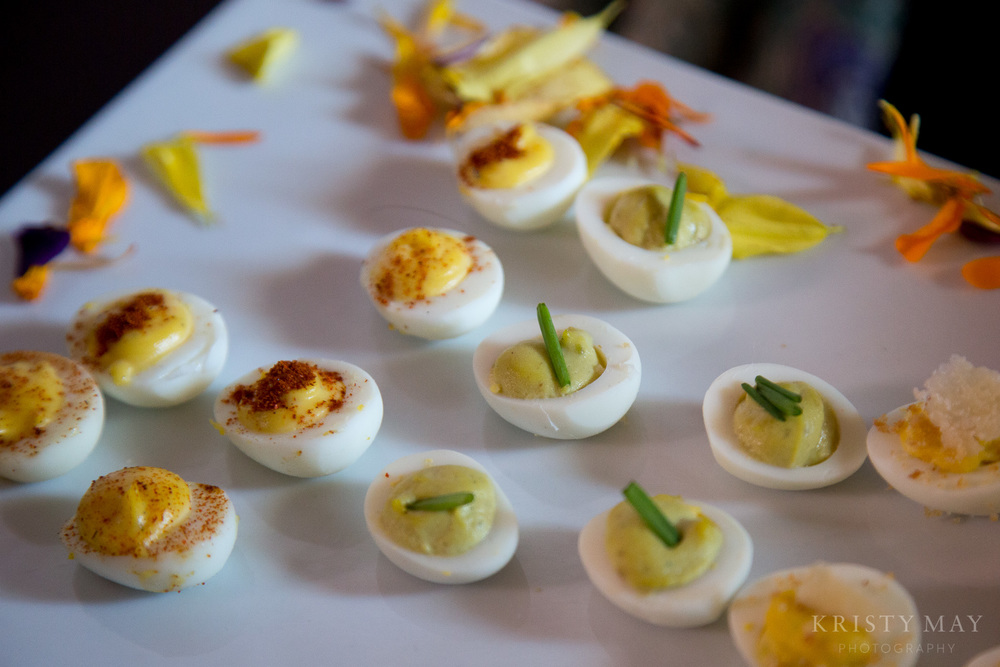 Ryan Brown Catering Quail Eggs