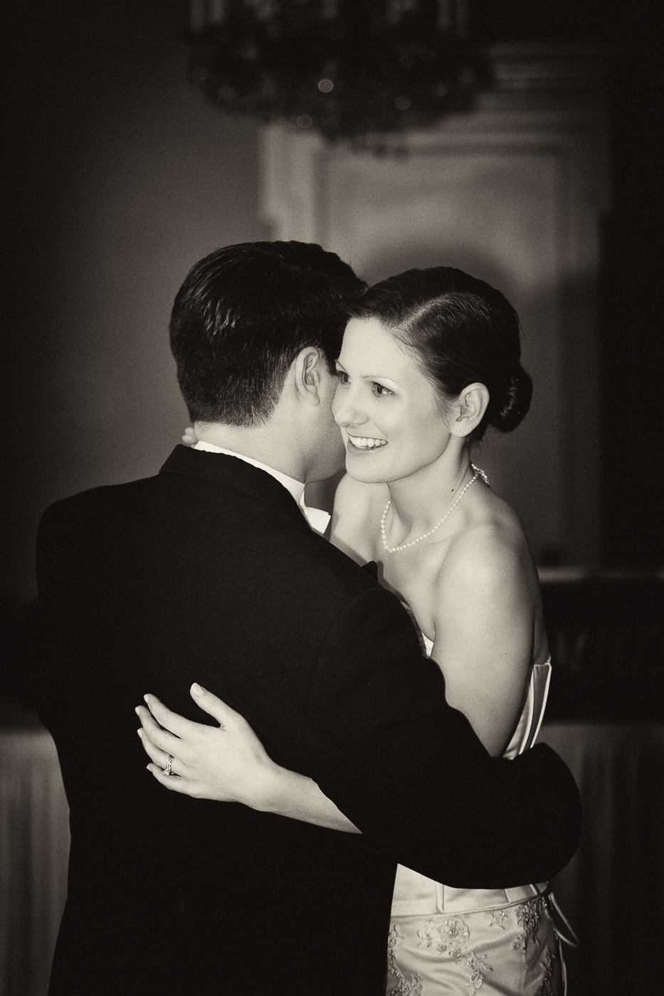 One of my favorite shots. The rest of the reception is a blur! Thank goodness I have photos!