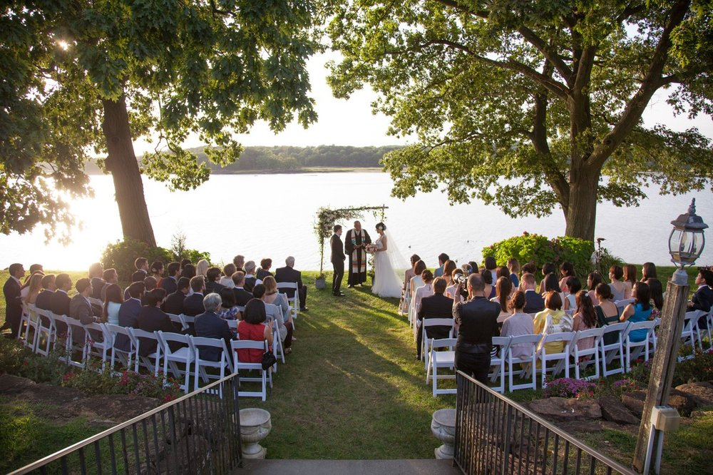 Wainwright House Outdoor Ceremony