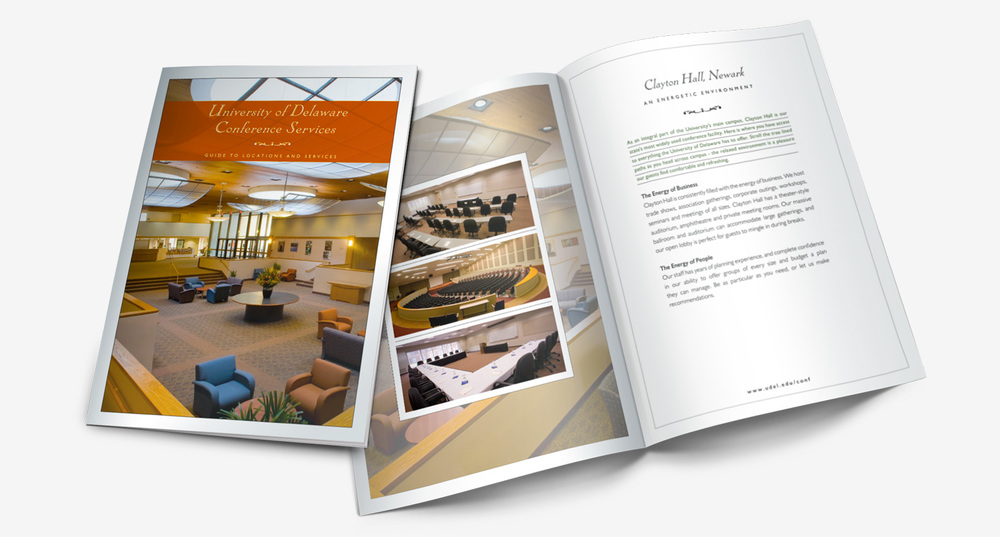 University of Delaware Conference services brochure