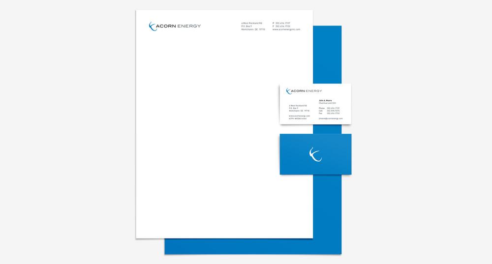 Acorn Energy corporate identity
