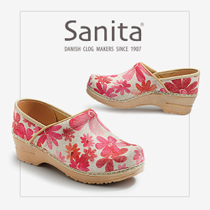 We fell in love with footwear a decade ago when we startedhelping other famous footwearbrands gainnational and global recognition. Now see what we did for Sanita.