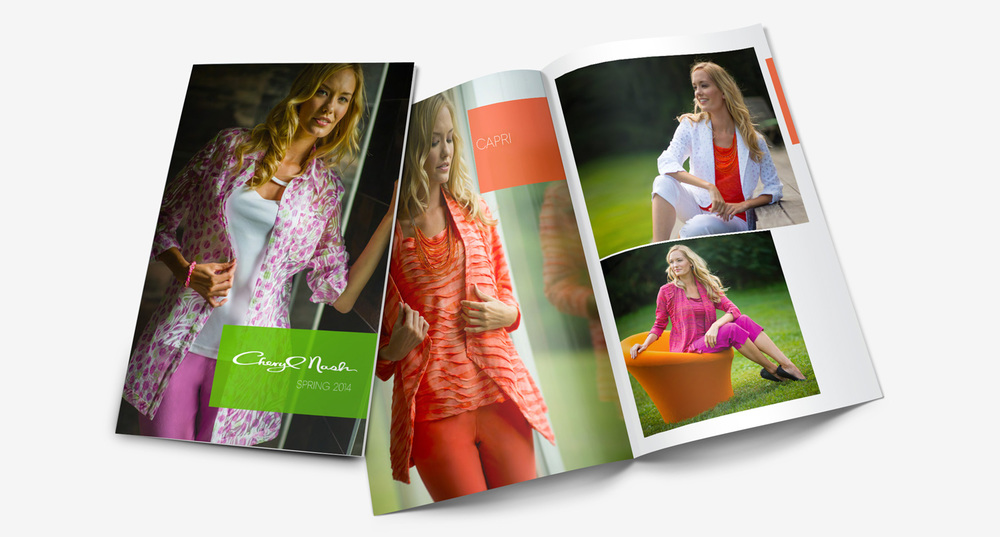 Cheryl Nash spring summer catalogue