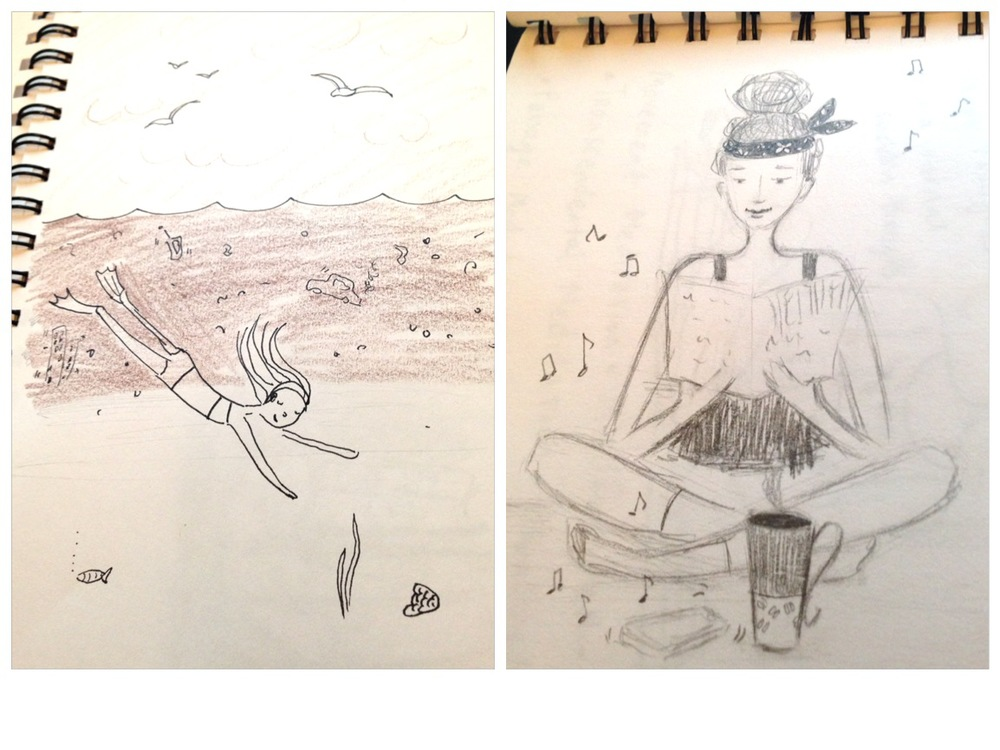 ....more doodles