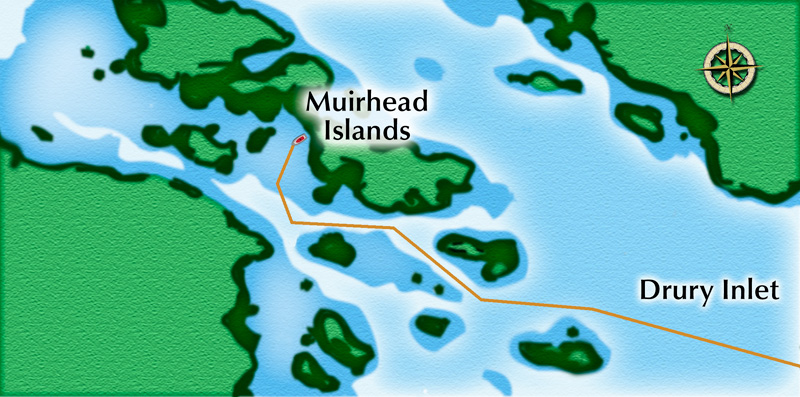 Muirhead Islands Approach - Not For Navagation