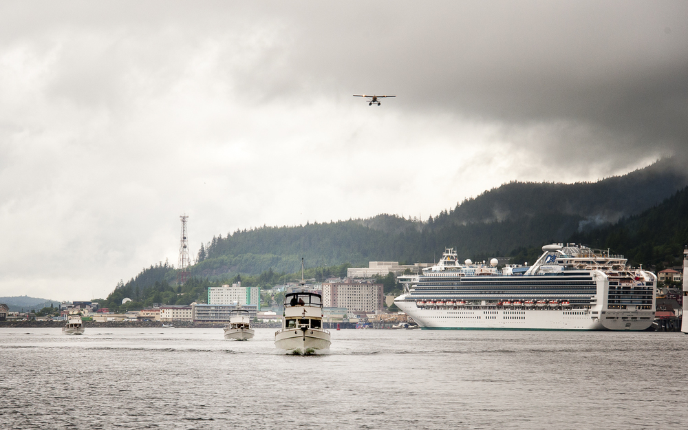Cruise Ships and Float Planes? It must be Ketchikan!