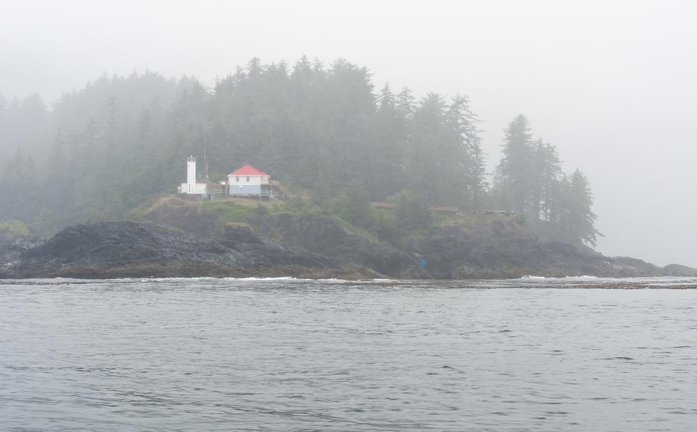 Rounding Cape Scott